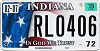 2015 Indiana In God We Trust graphic # RLO406