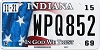 2015 Indiana In God We Trust graphic # WPQ852