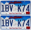 2016 South Dakota graphic pair # 1BV-K74