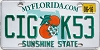 2016 Florida Orange graphic # CIG-K53