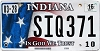 2016 Indiana In God We Trust graphic # SIQ371