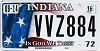 2016 Indiana In God We Trust graphic # VVZ884