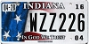 2016 Indiana In God We Trust graphic # WZZ226
