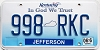 2016 Kentucky In God We Trust graphic # 998-RKC