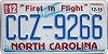 2016 North Carolina First In Flight # CCZ-9266