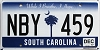 2017 South Carolina graphic # NBY-459