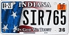 2017 Indiana In God We Trust graphic # SIR765
