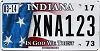 2017 Indiana In God We Trust graphic # XNA123