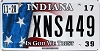 2017 Indiana In God We Trust graphic # XNS449