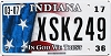 2017 Indiana In God We Trust graphic # XSK249