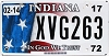 2017 Indiana In God We Trust graphic # XVG263