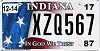 2017 Indiana In God We Trust graphic # XZQ567