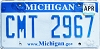 2017 Michigan graphic # CMT-2967