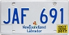 2017 Newfoundland and Labrador # JAF-691