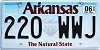 2018 Arkansas Diamond graphic # 220-WWJ