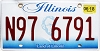 2018 Illinois Lincoln graphic # N97-6791