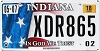 2018 Indiana In God We Trust graphic # XDR865