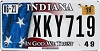 2018 Indiana In God We Trust graphic # XKY719