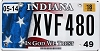 2018 Indiana In God We Trust graphic # XVF480