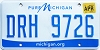 2018 Michigan pure Michigan # DRH-9726