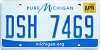 2018 Michigan pure Michigan # DSH-7469