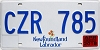 2018 Newfoundland and Labrador # CZR-785