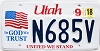 2018 Utah In God We Trust # N685V