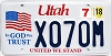 2018 Utah In God We Trust # X070M