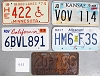 Saturday Special lot # 453, group of 5 mixed old license plates
