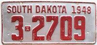 South Dakota License Plates