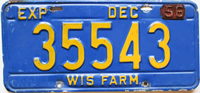 Wisconsin License Plates