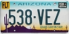 Arizona permanent graphic # 538-VEZ