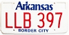 Arkansas Border City Taxi # LLB-397