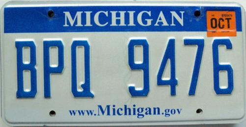 Michigan License Plates | eBay