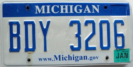 Michigan License Plates & Placards Information | DMV.ORG