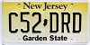 New Jersey Garden State graphic # C52-DRD