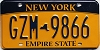 New York Empire State # GZM-9866