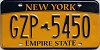 New York Empire State # GZP-5450
