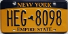 New York Empire State # HEG-8098