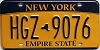 New York Empire State # HGZ-9076