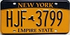 New York Empire State # HJF-3799