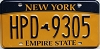 New York Empire State # HPD-9305