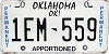 Oklahoma Permanent Apportioned # 1EM-559