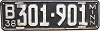1938 MINNESOTA license plate # 301-901