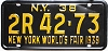 1938 New York World's Fair # 2R42-73