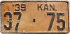 1939 Kansas # 75, Washington County