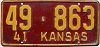 1941 Kansas # 863, Linn County