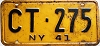 1941 New York # CT-275