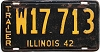 1942 Illinois Trailer # W17713