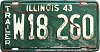 1943 Illinois Trailer # W18260